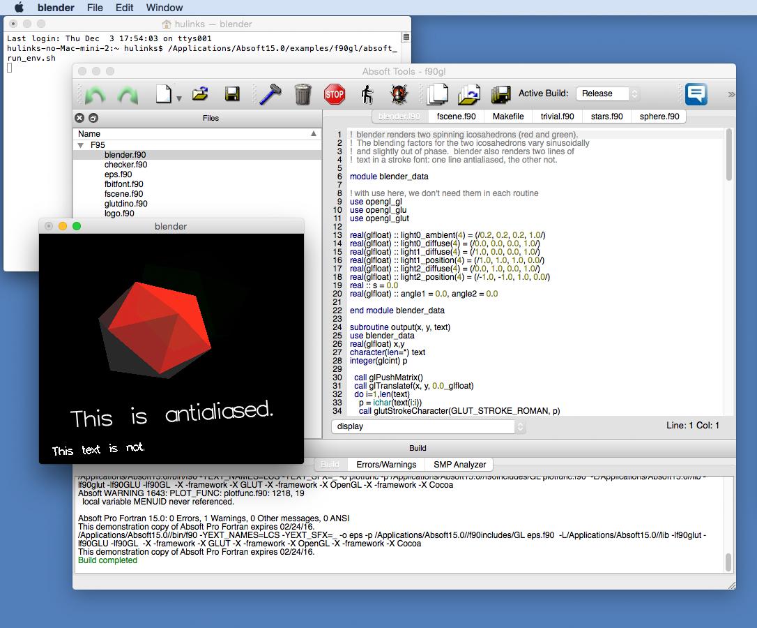 HULINKS | Absoft Pro Fortran Mac OSX | 製品概要