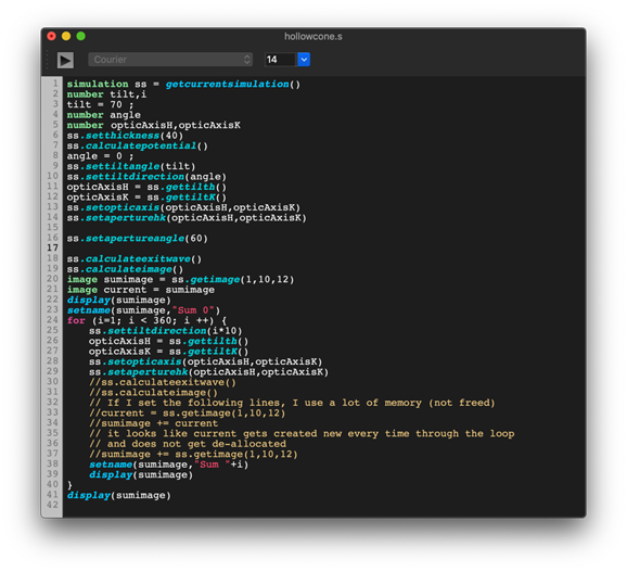 コードを読みやすくするシンタックスカラーリング (構文の色分け) 機能と、操作性を向上するワード補完機能が追加されています